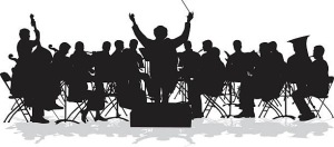 Symphonic Orchestra Silhouette