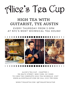 Alice's Tea Cup Flyer