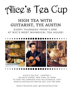 Alice's Tea Cup Flyer